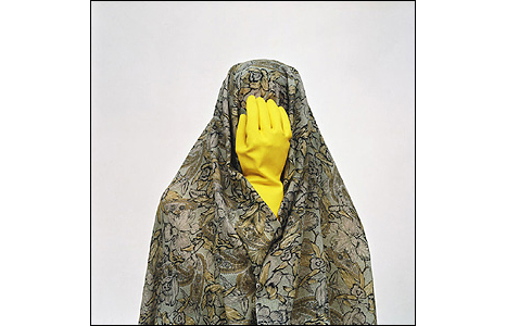 Untitled from the Like Everyday Series. Courtesy of the Saatchi Gallery, London. © Shadi Ghadirian, 2008