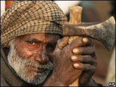 Indian miner
