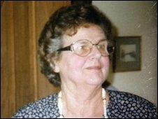 Marion Alder whose body was exhumed
