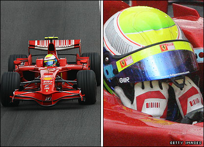 Felipe Massa has mixed emotions after winning the 2008 Brazilian GP but losing the world title
