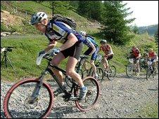 Mountain biking in the Afan Valley