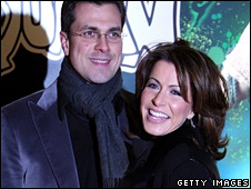 Justin Bower and Natasha Kaplinsky
