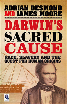 Darwin's Sacred Cause book cover (Allen)