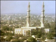 Mosque in Khartoum, capital of Sudan