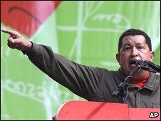 Venezuelan President Hugo Chavez (23/01/09)