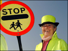 Mayor Ailia Lewis is a lollipop lady