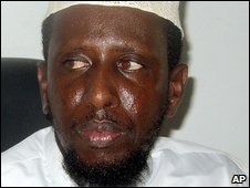 Opposition leader Sheikh Sharif Ahmed
