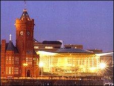 Senedd, Cardiff Bay