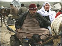 Desplazados palestinos