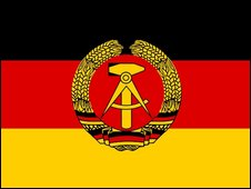 The East German flag