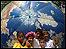 Niños en el FSM en Belém