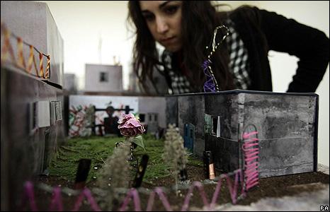 Qalandia, by artist Wafa Hourani