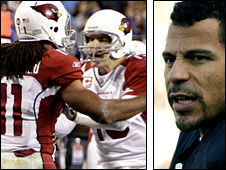 Woodson (right) believes Warner and the Cardinals will spring a surprise