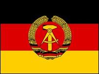 Bandera de la ex RDA