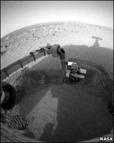 Rover's view (Nasa)