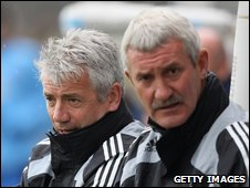 Kevin Keegan [L] and Terry McDermott