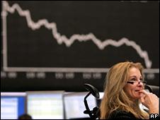 DAX stock exchange (14 January 2009)