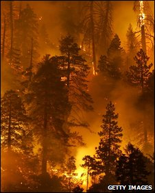 California wildfires 2007 (Getty)