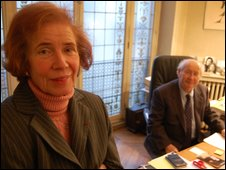 Beate and Serge Klarsfeld