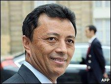 Madagascar's President Marc Ravalomanana
