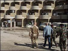 Sgt Maj Jim Leech visiting the HQ