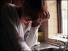 Distressed woman (generic)