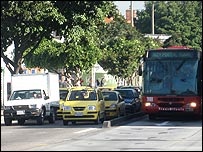 Buses transmilenio