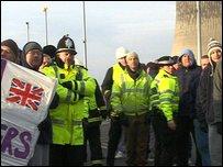 Wilton protest