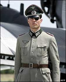 Tom Cruise as Claus von Stauffenberg