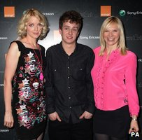 Lauren Laverne, Tommy Reilly and Jo Whiley