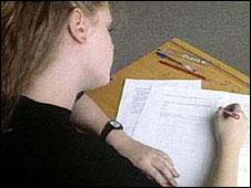 girl studying