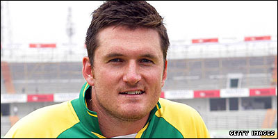 South Africa captain Graeme Smith (Library pic)