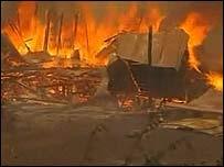 Пожар в штате Виктория