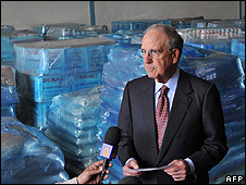 US envoy George Mitchell