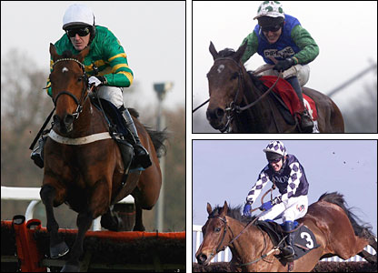 Tony McCoy on Binocular, Cyfor Malta and Deeno's Beano