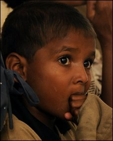 Child in north Sri Lanka