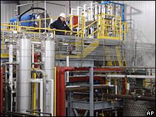 Ethanol processing plant