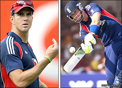 Kevin Pietersen in action for England