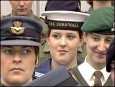 Women in the armed forces