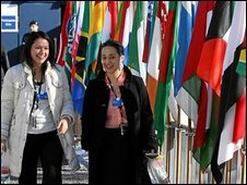 Delegates at World Economic Forum
