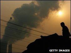 Beijing power plant - photo October 2007