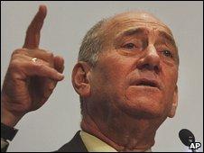 Israeli Prime Minister Ehud Olmert (file)