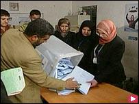 فرز اصوات انتخابات المحافظات العراقية