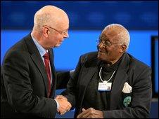 South African Archbishop Desmond Tutu