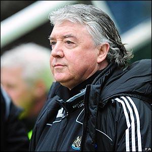 Newcastle boss Joe Kinnear