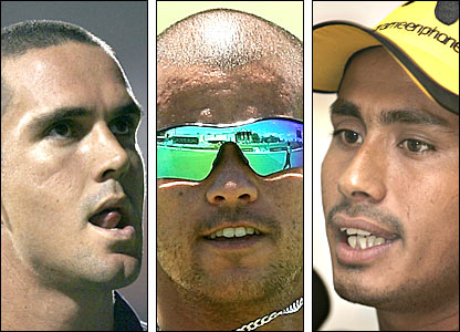 Kevin Pietersen, JP Pietersen and Mohammad Ashraful are all set for the auction