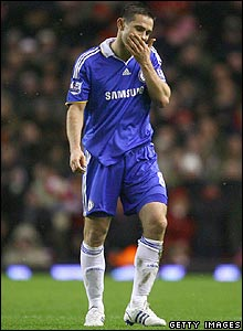 Frank Lampard is dismissed