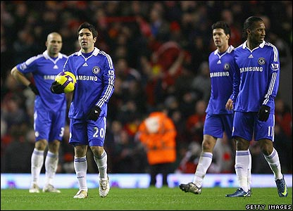 Chelsea's players are left to reflect on a crucial defeat