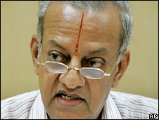 India's Chief Election Commissioner N Gopalaswami