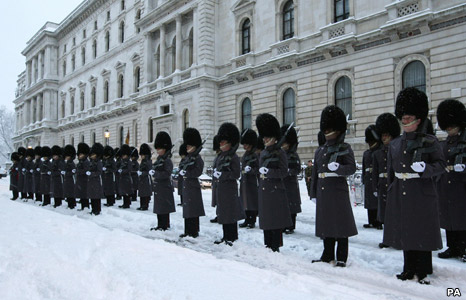 Scots Guard in London